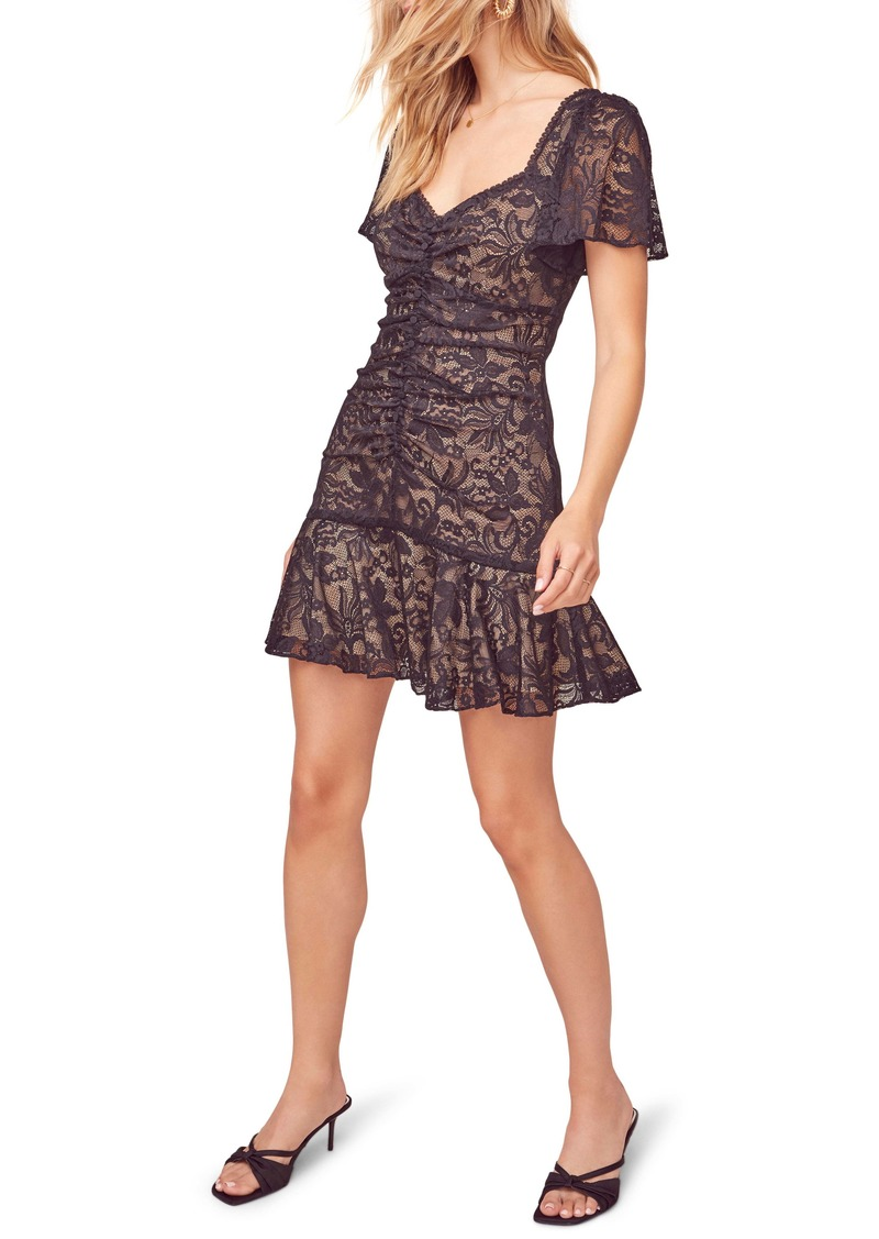 ASTR the Label Smitten Lace Minidress