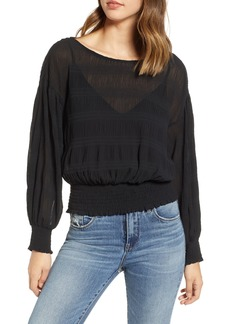 ASTR the Label Smocked Top