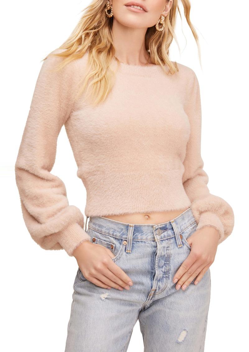 ASTR the Label Sorbet Balloon Sleeve Sweater