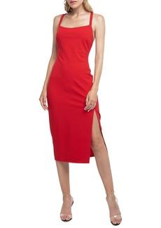 ASTR the Label Strappy Back Sheath Dress