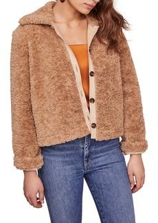 ASTR the Label Teddi Faux Fur Jacket
