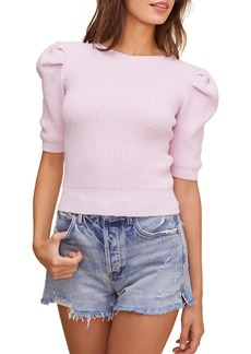ASTR the Label Villa Puff Sleeve Sweater