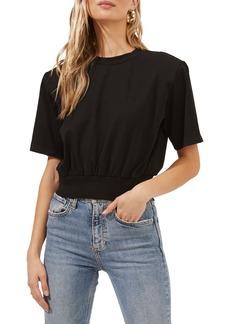 ASTR the Label Volume Shoulder Crop T-Shirt