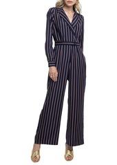ASTR the Label Wide Leg Front Button Jumpsuit