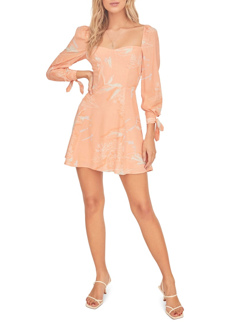 ASTR the Label Windsor Long Sleeve Minidress