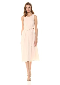 ASTR the label Women's Brady Sleeveless Fit & Flare Midi Dress