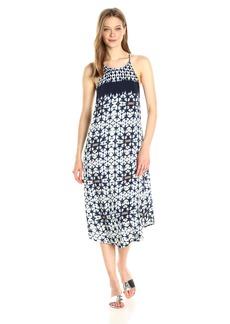 ASTR the label Women's Delfina Dress Indigo tie dye
