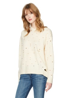 ASTR the label Women's Distressed Pullover Sweater  S