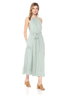 ASTR the label Women's Farren Halter Dress with Drawstring Belt