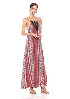 ASTR the label Women's Hermosa Print Maxi Dress