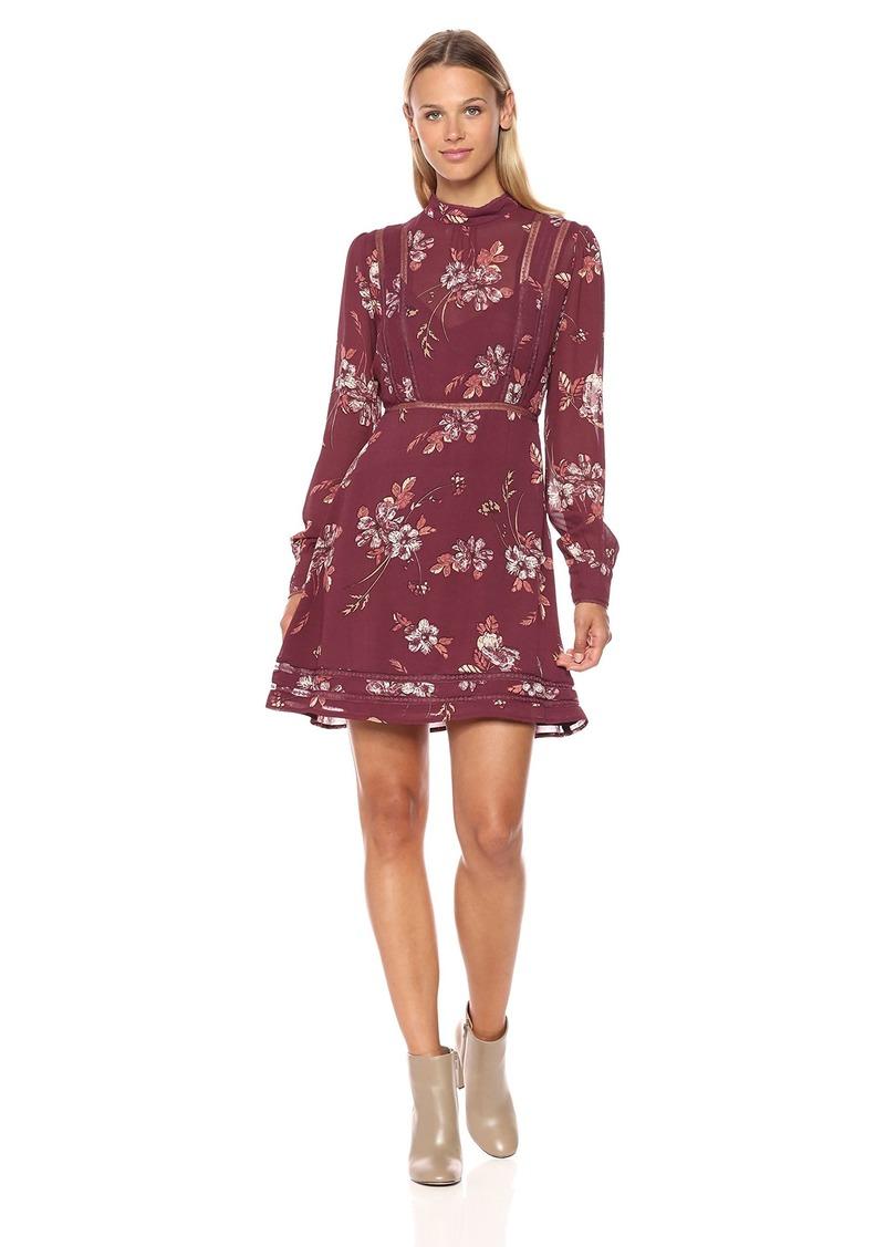 ASTR the label Women's Kirsten Floral Print Shift Dress