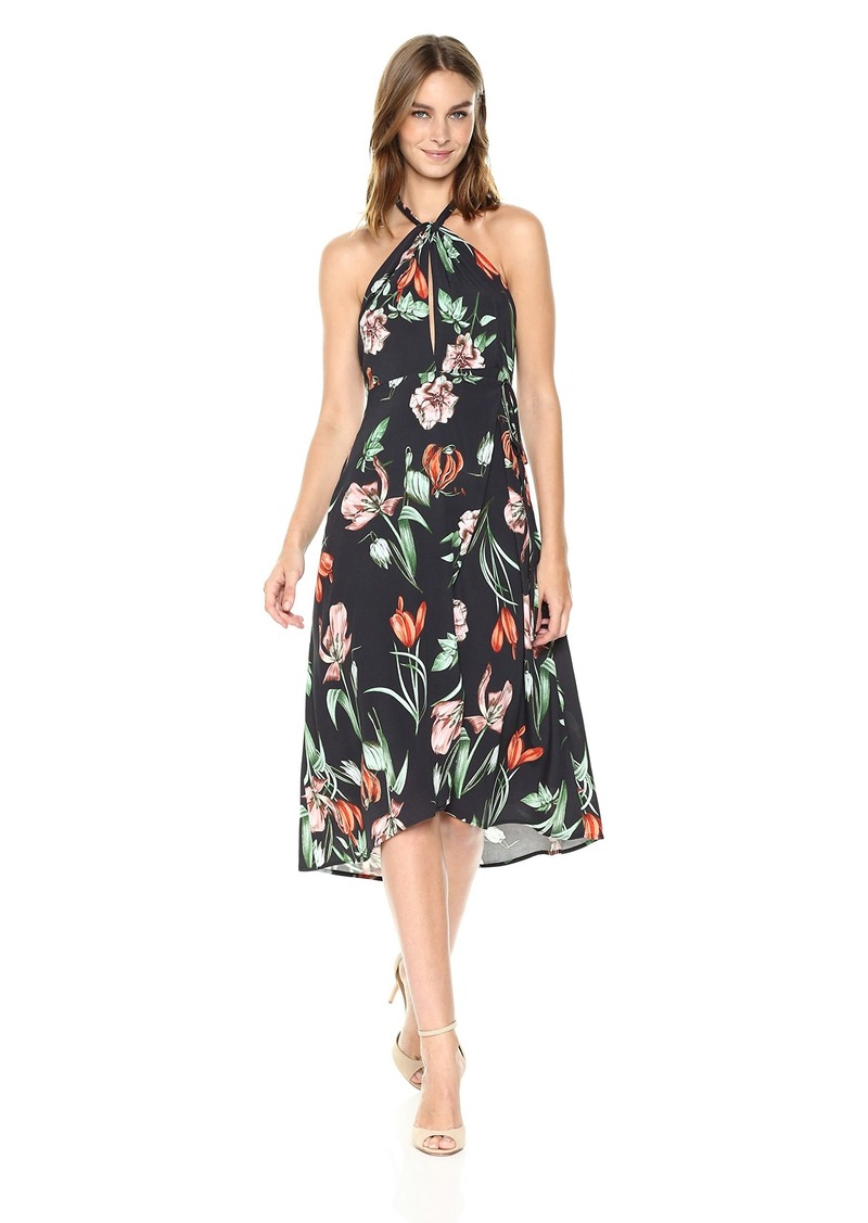 641b1d6475 SALE! ASTR ASTR the label Women s Luciana Floral Print Halter Midi Dress