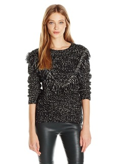 ASTR the label Women's Marion Fringe Sweater