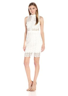 ASTR the label Women's Vivian Crochet Lace Dress
