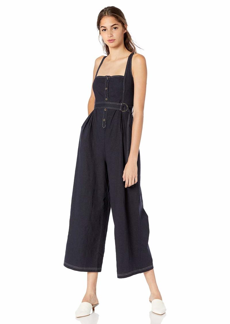 ASTR the label Women's Warwick Sleeveless Wideleg Casual Jumpsuit  XS