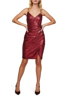 ASTR the Label Yours Truly Sleeveless Sequin Dress