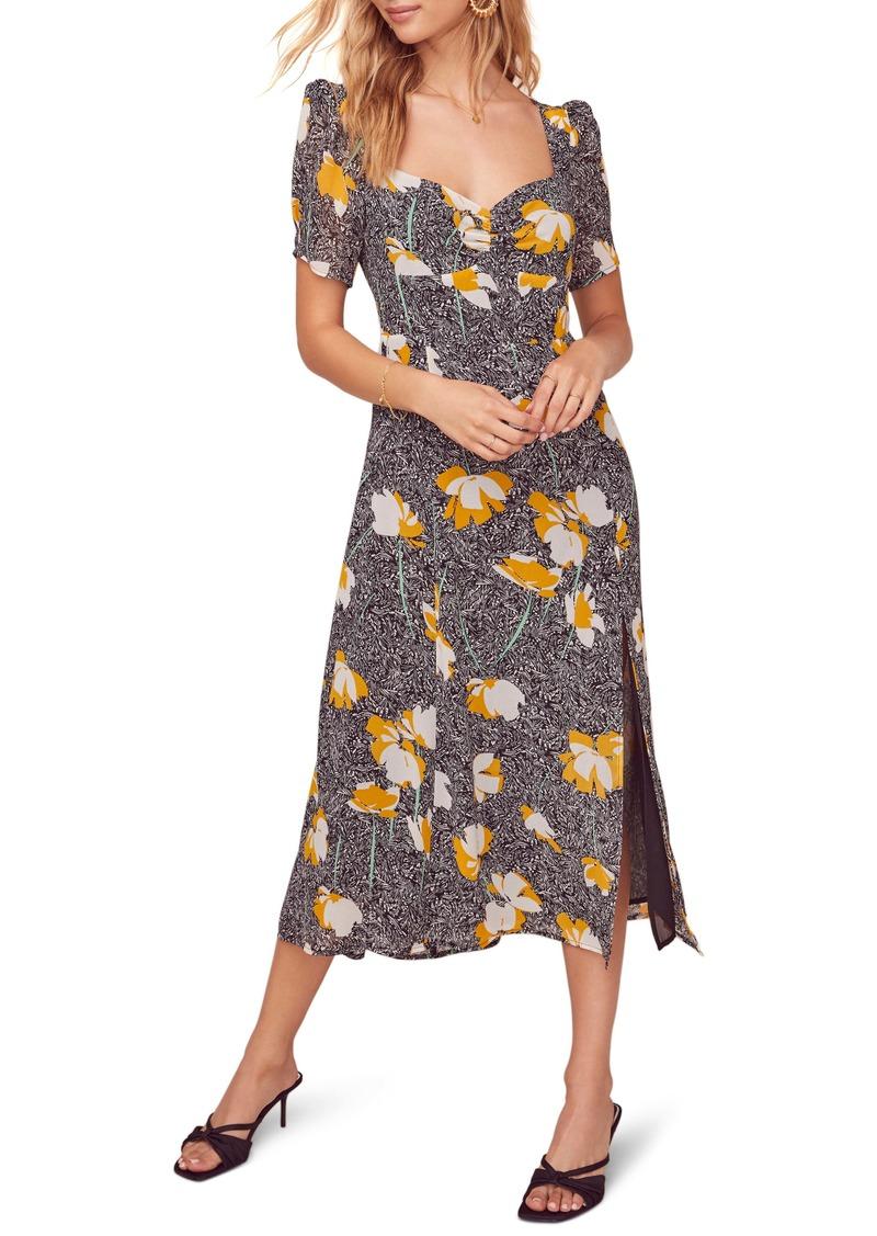 ASTR the Label Zenn Floral Midi Dress