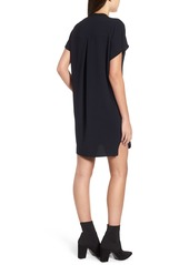 d2d81d217c6 ASTR ASTR V-Neck Crepe Shift Dress
