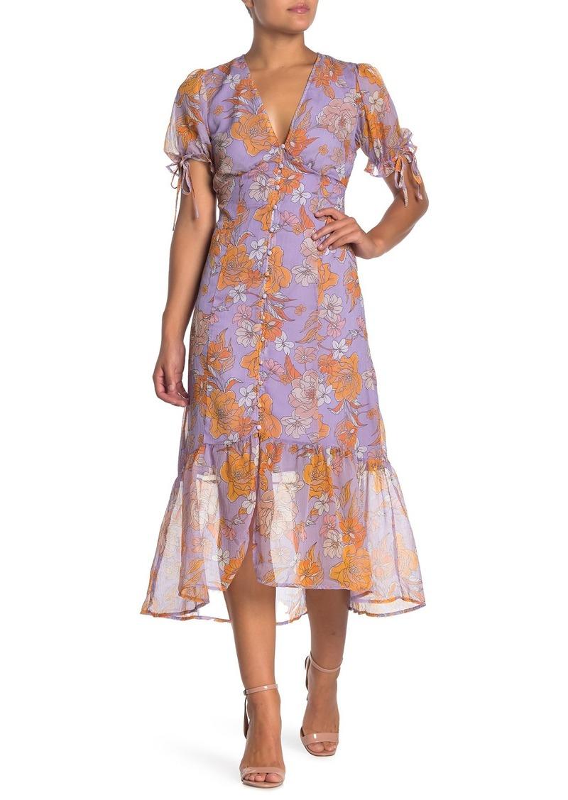 ASTR Chandler Floral Dress