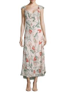 ASTR Florentina Floral Hi-Lo Dress