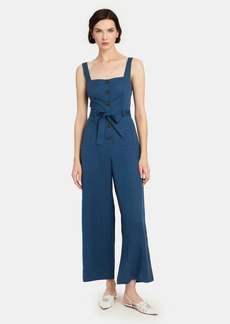 ASTR Mirage Belted Jumpsuit - L - Also in: M, S, XS