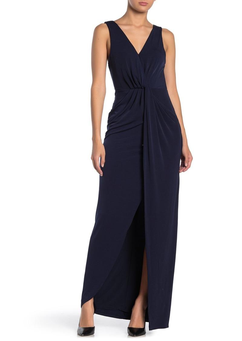 ASTR Twist Front Maxi Dress