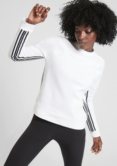 Athleta 24/7 Striped Crew Sweatshirt