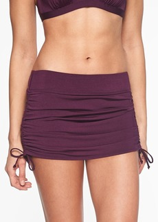 Athleta Aqualuxe Side Scrunch Skirt