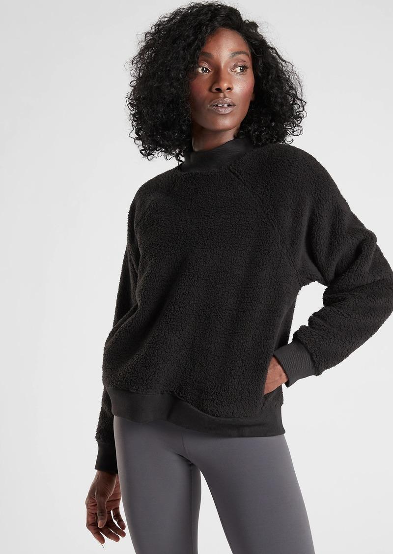Athleta Asana Sherpa Sweatshirt