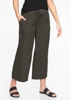Athleta Bali Linen Crop Pant