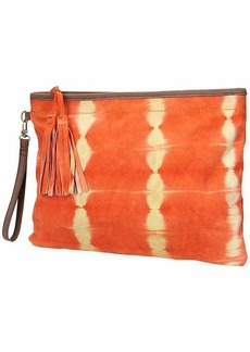 Athleta Batik Suede Clutch by Flora Bella