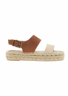 Bi Color Platform Sandal by Soludos