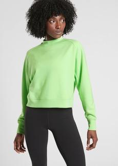 Athleta Bounce Back Crop Sweatshirt