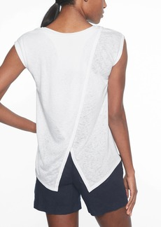 Athleta Breezy Crossback Tee