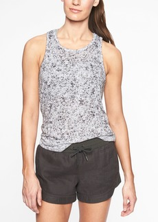 Athleta Breezy Printed Cutout Tank