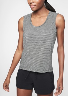 Athleta Breezy Stripe Muscle Tank