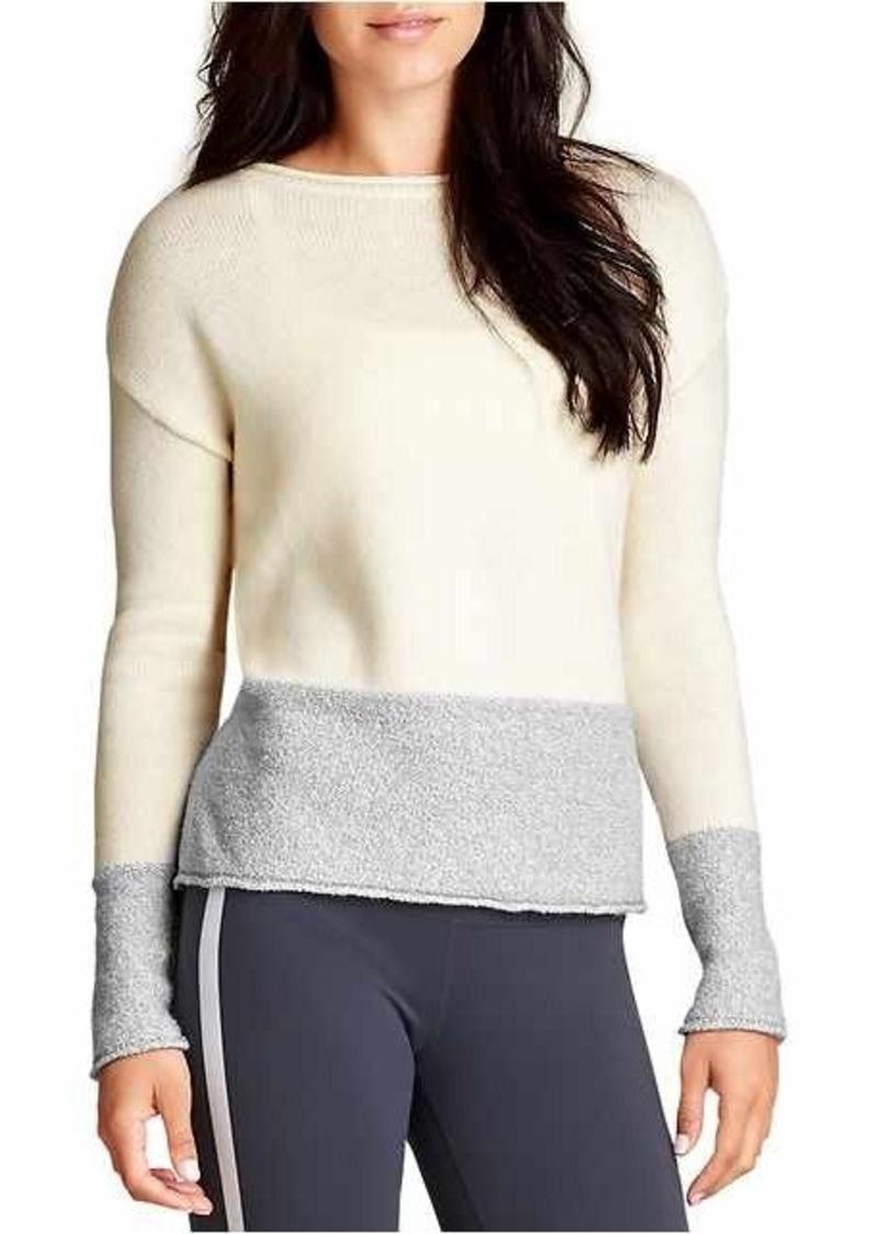 Athleta Brindle Border Sweater