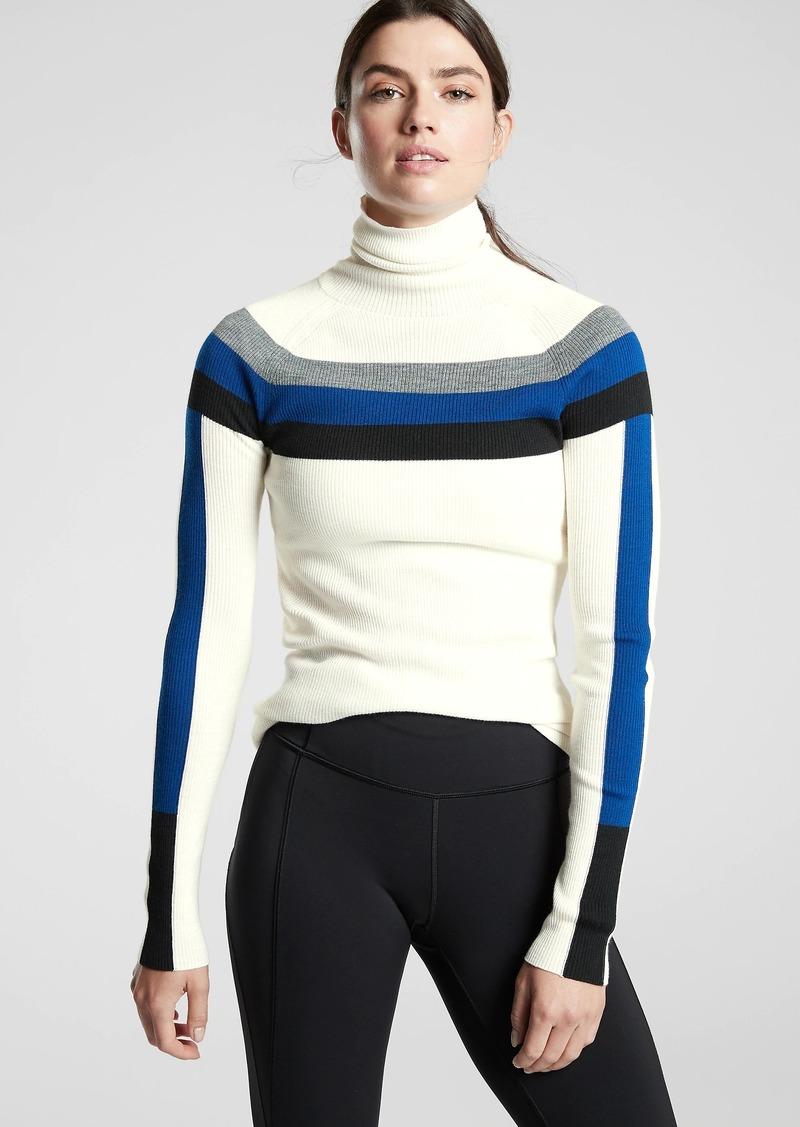 Athleta Brookshire Colorblock Sweater