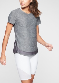 Athleta Cadence Heather Tee
