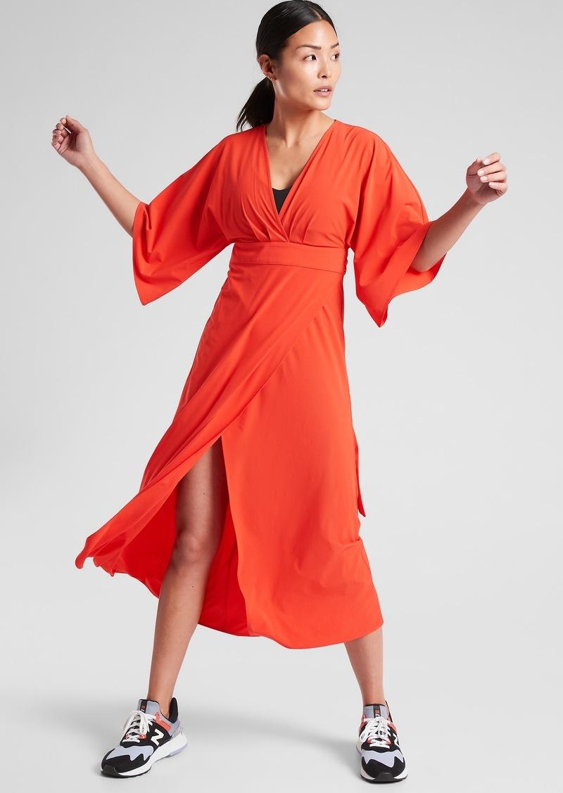 Athleta Calistoga Wrap Dress