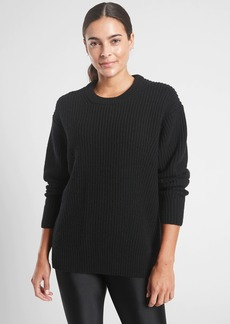 Athleta Cascades Crew Sweater