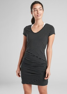 Athleta Central Stripe Dress