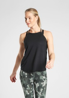 Athleta Chi Dot Mesh Train Tank