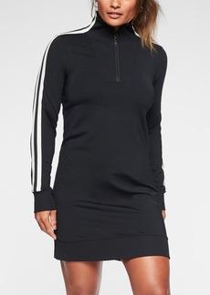 Athleta Circa Track Sweatshirt Dress