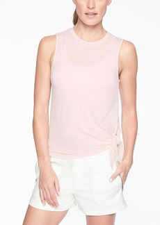 Athleta Cloudlight Asym Side Tie Tank