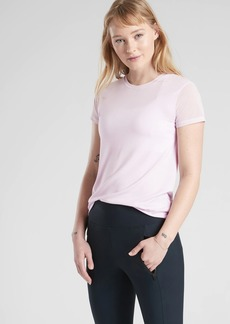Athleta Cloudlight Hybrid Tee