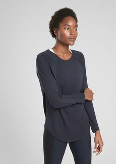 Athleta Cloudlight Hybrid Top