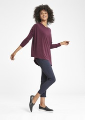 Athleta Cloudlight Relaxed Asym Top