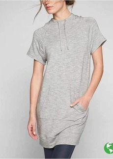Athleta Coaster Short Sleeve Sweatshirt Dress
