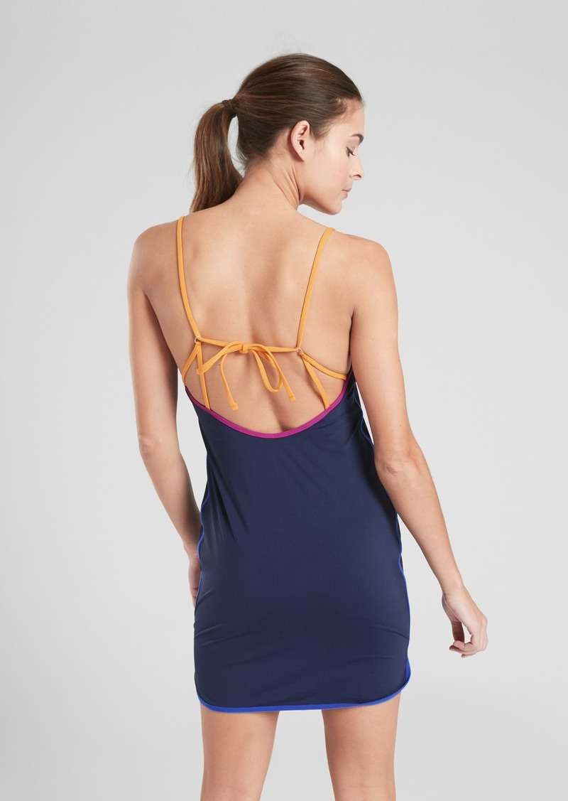 Athleta Color Binding Swim Dress